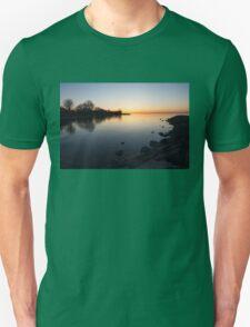 A Quiet Sunrise - Toronto, Lake Ontario Unisex T-Shirt