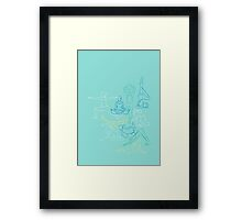 Morning Yoga Framed Print