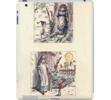 The Little Folks Painting book by George Weatherly and Kate Greenaway 0173 iPad Case/Skin