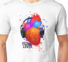 No Music - No Life (Tech House Lover) Unisex T-Shirt