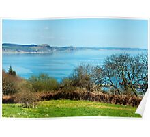 Cobb Harbour Overlook ~ Lyme Regis Poster
