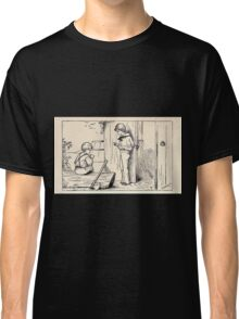 Some Little People George Kringle & Kate Greenaway 1881 0057 Listen Classic T-Shirt