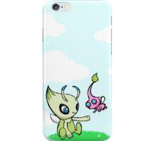 Celebi meets Flying Pikmin iPhone Case/Skin