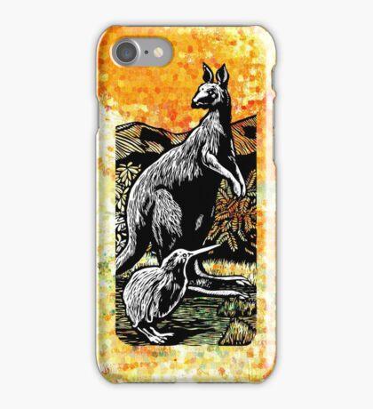 Kangaroo and Kiwi iPhone Case/Skin