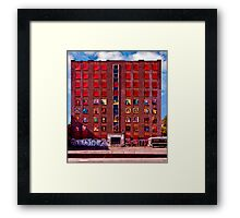 Anston House, Brighton, UK Framed Print