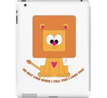 Cute Lion  iPad Case/Skin