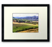 Gunns Plains  Framed Print