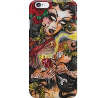 like moths to a flame iPhone Case/Skin