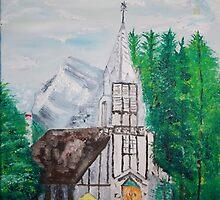 Church in Banff by James Bryron Love