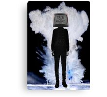 Carry on... Canvas Print