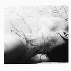 Body Maps - Mixed Maps - Neck by MaggieGrace