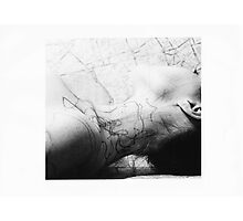 Body Maps - Mixed Maps - Neck Photographic Print