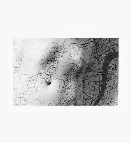 Body Maps - Mixed Maps - Torso Photographic Print