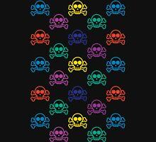 Rainbow Skull  Womens Fitted T-Shirt