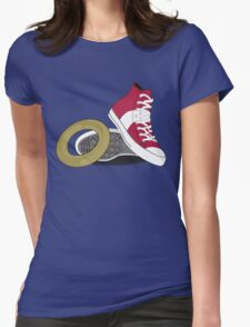 Sonic Converse Womens Fitted T-Shirt