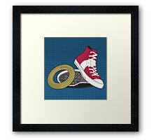 Sonic Converse Framed Print