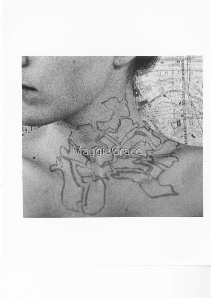 Body Maps - Tower Hamlets - Neck by MaggieGrace