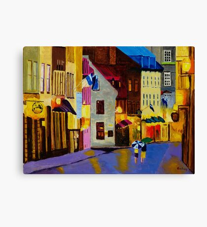 Old Towne Quebec Canvas Print