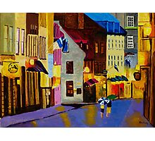 Old Towne Quebec Photographic Print