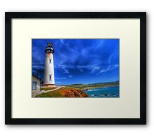 Pigeon point Framed Print