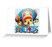 Chopper one piece, funny Greeting Card