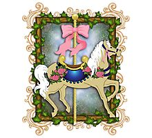 The Flower Carousel Photographic Print