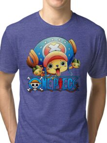 Chopper one piece, funny Tri-blend T-Shirt