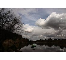Green Dingy in the Dells Photographic Print