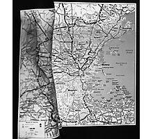Body Maps - Boston Coast - Torso, Leg, Arm Photographic Print