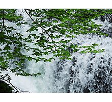 Cascading Water Photographic Print