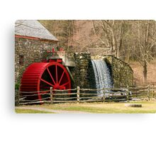 New England Grist Mill I Canvas Print