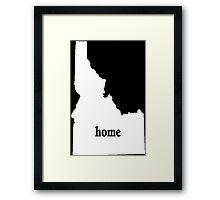 Original Idaho Home - Tshirts Framed Print