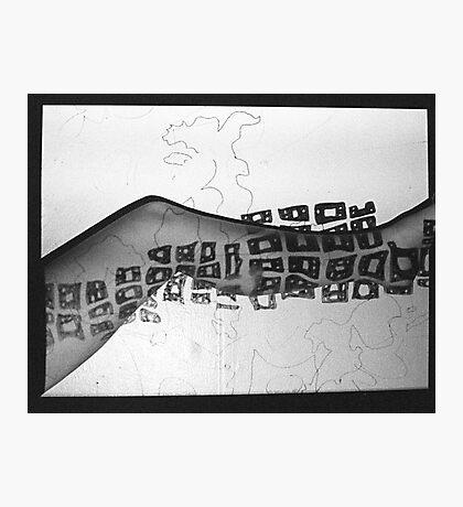 Body Maps - Mixed Map - Leg Photographic Print