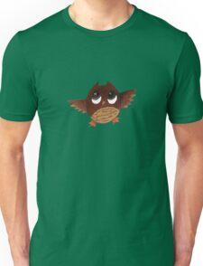 Owl with Big Eyes  Unisex T-Shirt