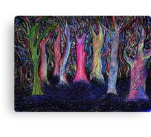 Shining forest Canvas Print