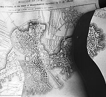Body Maps - 19th C Boston - Back by MaggieGrace