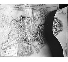 Body Maps - 19th C Boston - Back Photographic Print