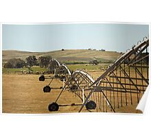 Centre Pivot Irrigation, Mt Benson Poster