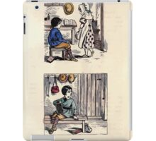The Little Folks Painting book by George Weatherly and Kate Greenaway 0075 iPad Case/Skin