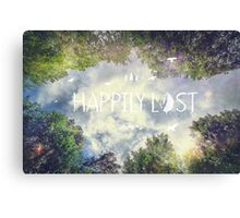 Happily Lost II Canvas Print