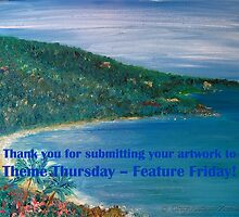 Theme Thursday-Feature Friday Thank you banner by Grace Anthony Zemsky