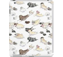 Pugs on the Run! iPad Case/Skin
