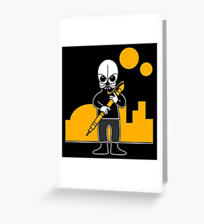 Figrin D'an (Mos Eisley Cantina - Star Wars) Greeting Card