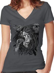 Kings Women's Fitted V-Neck T-Shirt