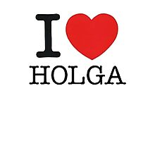 I ♥ HOLGA Photographic Print