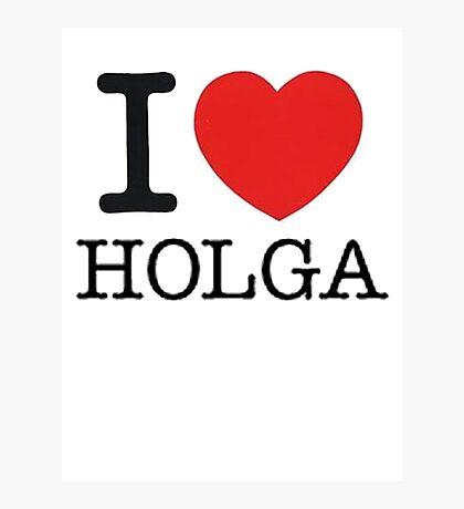 I ♥ HOLGA Photographic Print