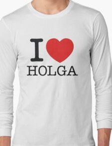 I ♥ HOLGA Long Sleeve T-Shirt