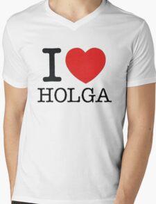 I ♥ HOLGA Mens V-Neck T-Shirt