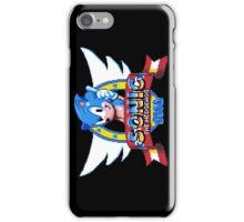 Sonic Logo - pixel art iPhone Case/Skin