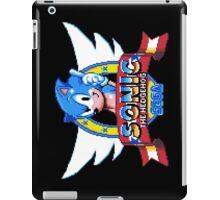 Sonic Logo - pixel art iPad Case/Skin